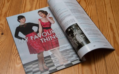 Fashion photography published in In Retrospect magazine