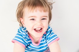 Studio photograph of toddler by Anna Hindocha/Warm Glow Photo
