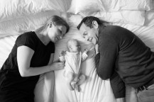 Parents and newborn baby girl photographed by Anna Hindocha/Warm Glow Photo