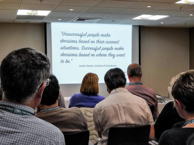 Julia Boggio's talk at SWPP convention