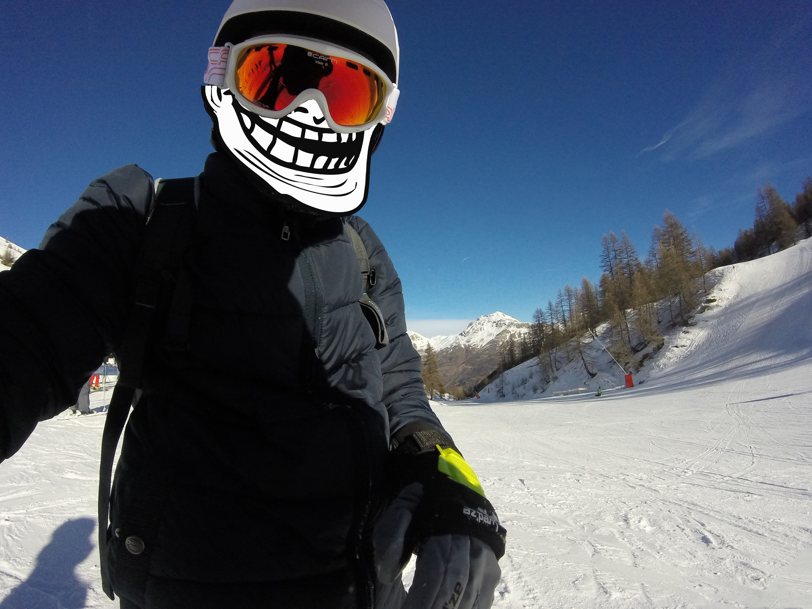 Go pro hero neige