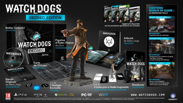 Watch Dogs édition Dedsec
