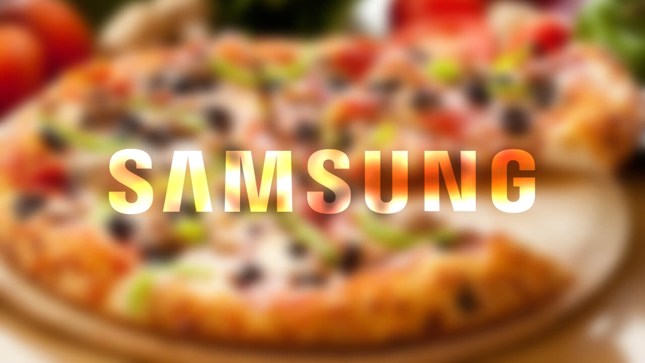Mettre à jour son smartphone pizza samsung