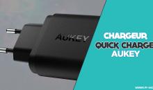 Review/test – Un bon chargeur pour 10€ ? – AUKEY PA-T9 Quick charge 3.0 !