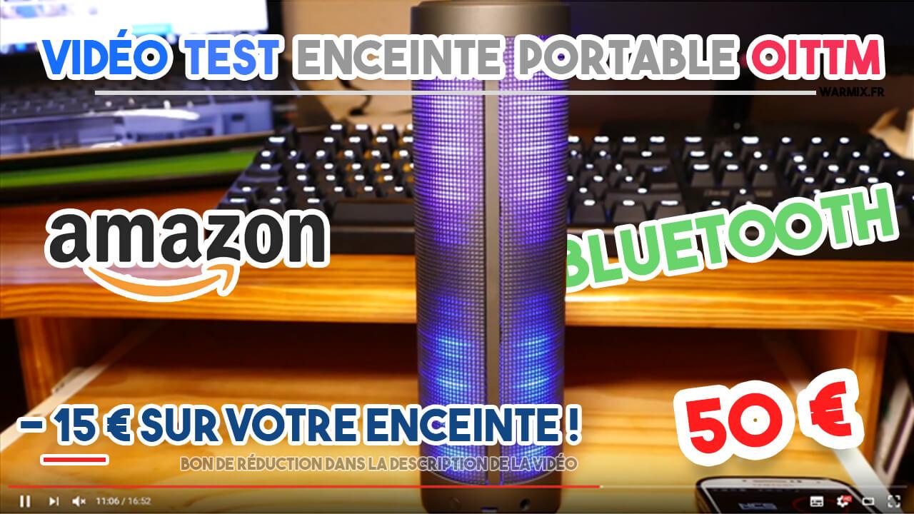 vidéo test enceinte oittm puissante performante pas chère unboxing fr review