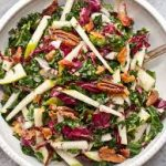 Kale, Apple and Shiitake Salad with Pecans