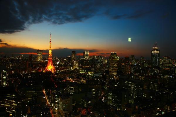 安全な都市-東京