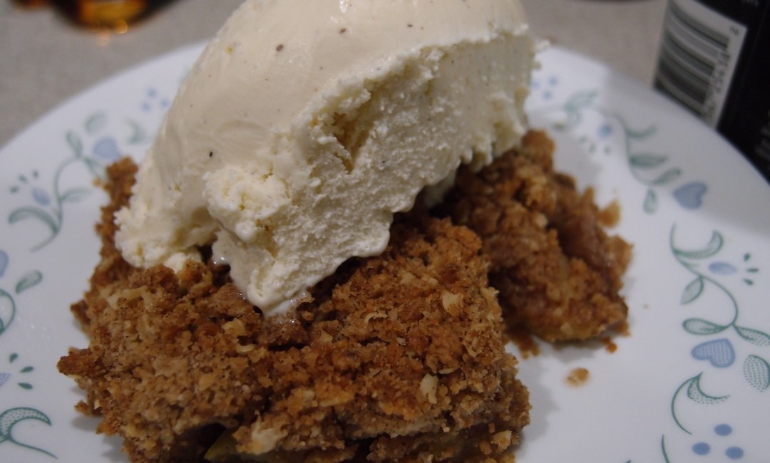 It's Fall Y'all: Apple Crumble Recipe