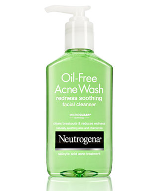 I also don't own this image but this is the miraculous green cleanser that will soothe your face.
