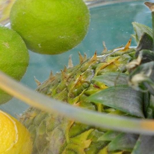 Ananas im Glas (1)