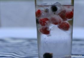 Eiskalte Früchte im Glas - Original