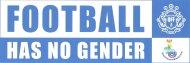 Football has no gender - Rainbow Zebras - nur Banner