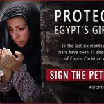 Kidnapping Travesty: 'Young Christian women and girls by Egypt's Muslims'