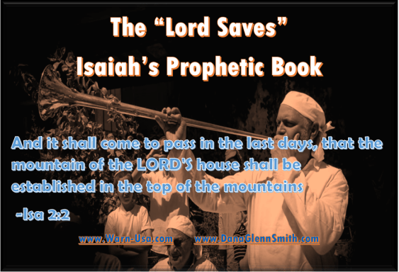 Casting down Moab Isaiah's Prophetic Book Pt25 on Battle Lines | www.warn-usa.com | WIBR/WARN image article