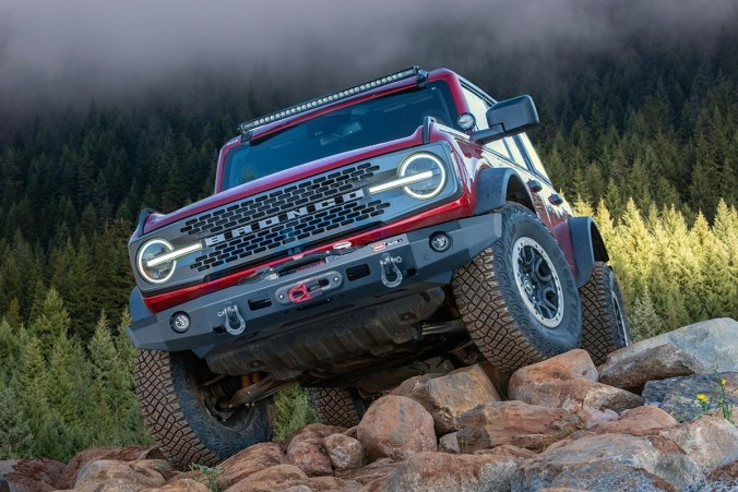 Warn Winch Bumper without Grille Guard Tube