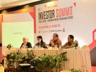 Investor Summit dalam rangka Public Expose PT Dyandra Media International, Tbk di Denpasar, Bali (13/9)