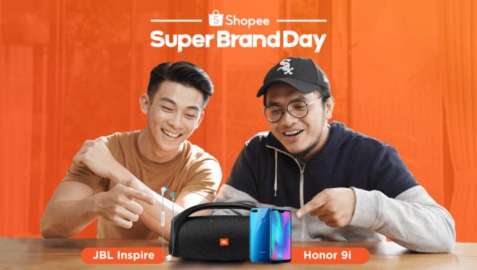 Setelah Kesuksesan Super Brand Day dengan JBL, Shopee Bekerjasama dengan Honor untuk Meluncurkan Honor 9i