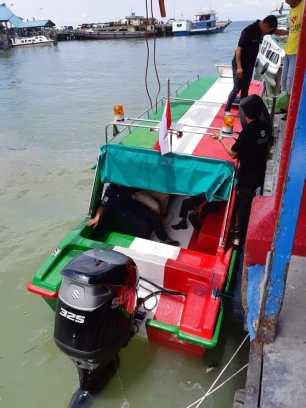 Tarakan merupakan salah satu wilayah di Kalimantan yang mengandalkan transportasi air dalam kegiatan sehari-hari, sehingga dalam sosialisasi dan sea trial para peserta dapat merasakan langsung performa mesin tempel DF325A.