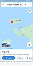 google-maps-desa-wisata-Arborek
