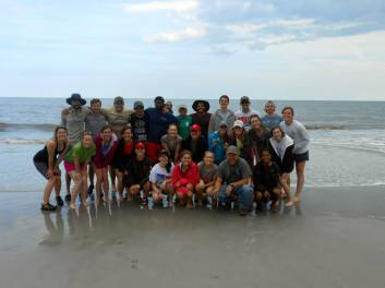 Sapelo Island group picture