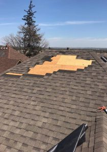 roofing carpentry plywood replacement