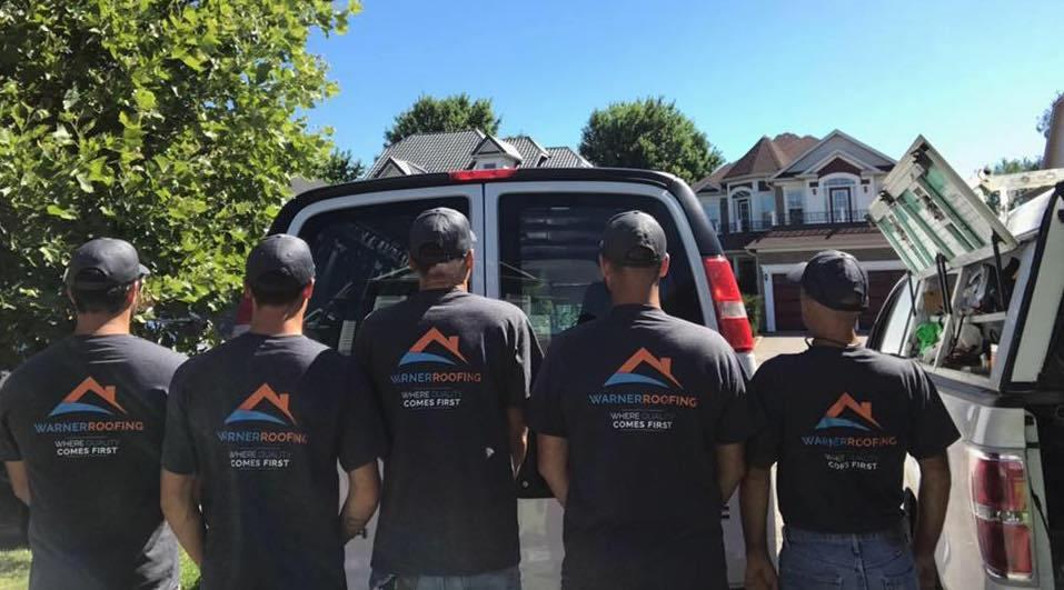 Warner Roofing Team