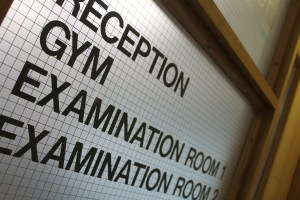 Reception Gym Examination Rooms
