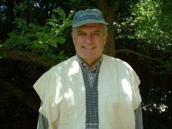 uncle-wearing-white-tribal-shirt-thingie
