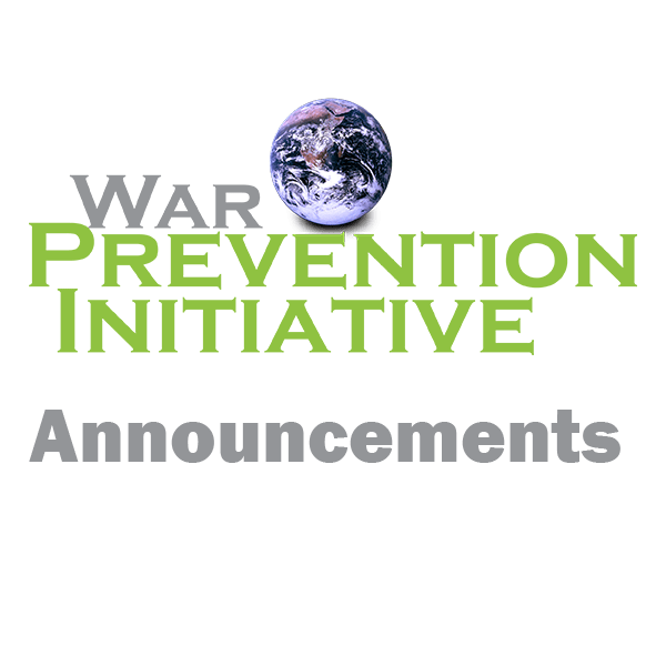 War Prevention Initiative co-signs letter to the President on implementing the joint statement of the Singapore Summit