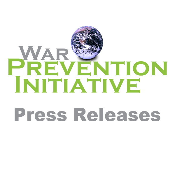 War Prevention Initiative Statement on Events at U.S. Capitol on January 6, 2021