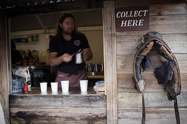 Always a good place to get a coffee at Craig's Hut 📷@mindful_gourmande