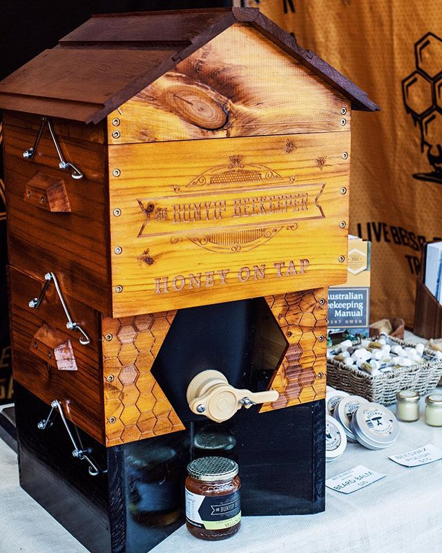 Honey now on tap from @thebunyipbeekeeper. We love this sustainable and waste reducing option! BYO jar 🍯