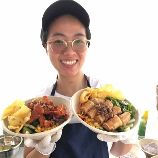 NEW STALL // Say a big hello to @thephamsisters – a Vegan Foodstall serving up delicious Vietnamese Vegan Street Food with a modern twist. This Saturday they'll be having the following things on their menu: -Vietnamese Golden Springrolls -Vegan Crackling 'Pok' Bahn Mi -Vegan BBQ 'Duk' Noodles Salad -Vegan Vietnamese Spring Rolls Noodles Salad -Beer Battered Wedges