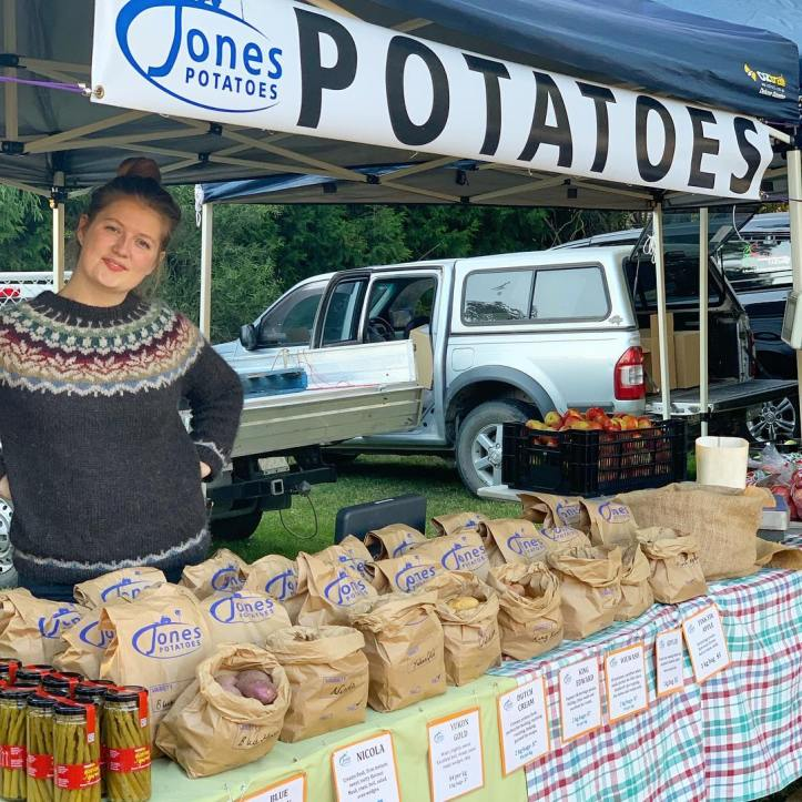 Potatoes, potatoes, potatoes! Jones potatoes are from Warragul, and they will have you covered with all the potatoes your heart desires. Come chat with Anna Marie to find the perfect accompaniment for your dinner