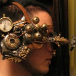 A microscope, steampunk style.