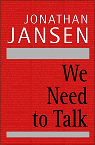 We Need To Talk (Jonathan Jansen)