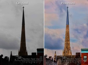 Before and After Processing
