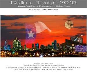 Dallas-Calendar-Cover