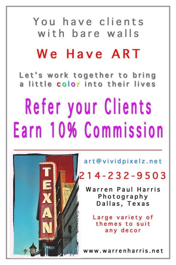 Art Commission Handout