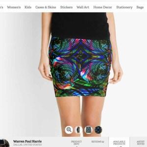 Vortex Neon Skirt