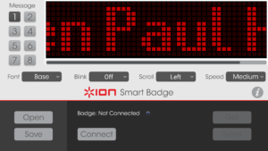 ION Badge App Screenshot