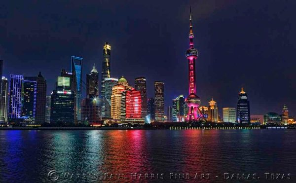 Shanghai Skyline Night II