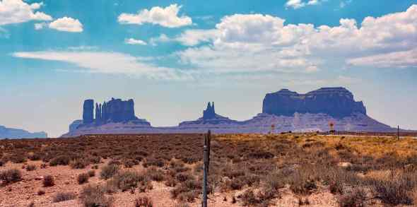 Monument Valley Fence