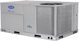 Carrier commercial HVAC equipment from Warren Heating and Cooling.