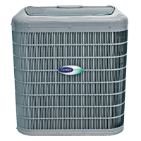 Carrier air conditioner rom Warren Heating and Cooling.