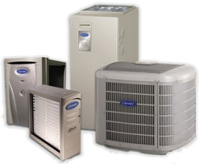 Carrier HVAC equipment from Warren Heating and Cooling