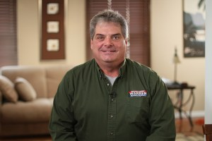 Photo of Paul Hewitt, owner of Warren Heating and Cooling