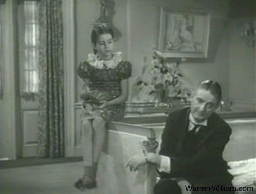 Virginia Weidler and Leonard Carey