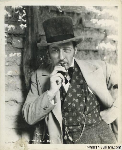 Warren William as Jefferson Carteret in Arizona