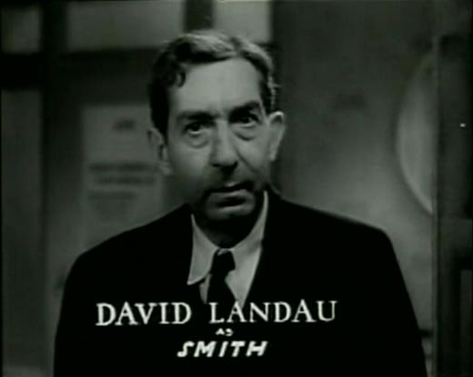 David Landau in Bedside